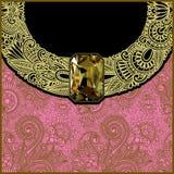 Luxury background with jewel Stock Photography