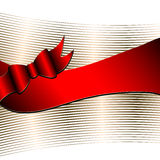 Luxury background with ribbon Stock Photography