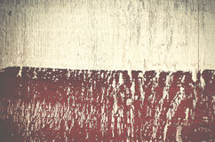 Luxury background of shabby painted wooden plank. Red and white. Wooden background Stock Photography