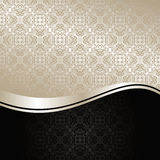 Luxury Background: silver and black. Royalty Free Stock Images