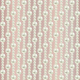 Luxury background with white pearls on beige.  illustration Royalty Free Stock Photos