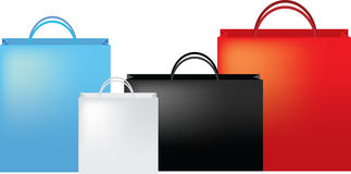 Luxury bag set Stock Photo