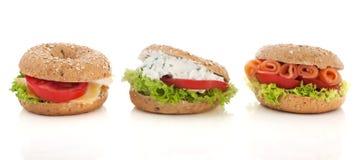 Luxury bagels Stock Image