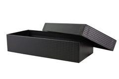 A luxury balck box Stock Photo