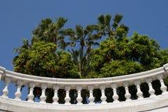 Luxury balcony with plants Stock Photography