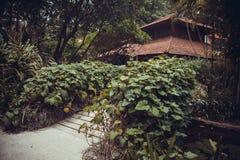 Luxury Bali mansion Royalty Free Stock Photos