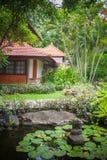 Luxury Bali mansion royalty free stock images