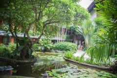 Luxury Bali mansion Royalty Free Stock Photo