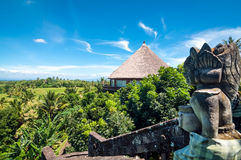 Luxury Bali Villa Stock Photo
