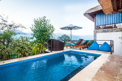 Luxury Bali villa Royalty Free Stock Photography