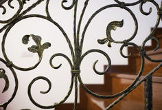 Luxury banister Stock Images