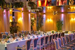 Luxury banquet Royalty Free Stock Photo