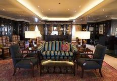 Luxury bar on cruise ship Stock Image