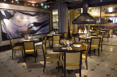 Luxury bar restaurant Royalty Free Stock Photography