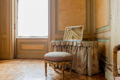 Luxury baroque interior Stock Images