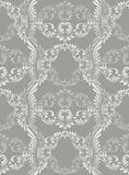 Luxury Baroque ornament background Vector. Rich imperial intricate elements. Victorian Royal style pattern Royalty Free Stock Image
