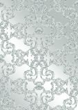 Luxury Baroque ornament background Vector. Rich imperial intricate elements. Victorian Royal style pattern Stock Image