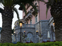 Luxury baroque style hotel Royalty Free Stock Image