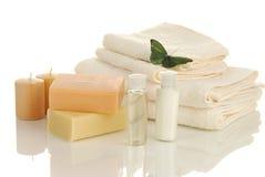 Luxury bath stock image