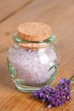 Luxury Bath Salts Royalty Free Stock Image