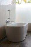Luxury Bath. A shot of a luxury bath in a hotel room stock photos