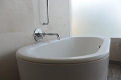 Luxury Bath. A shot of a luxury bath in a hotel room stock image
