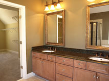 Luxury Bathroom 1 Royalty Free Stock Photos