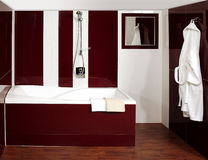 The luxury bathroom Royalty Free Stock Images