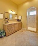 Luxury Bathroom. Ornate bathroom in luxury home royalty free stock photography
