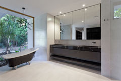 Luxury bathroom royalty free stock photos
