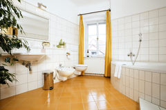 The luxury bathroom Stock Images