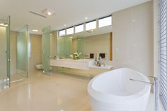 Luxury bathroom Royalty Free Stock Photos