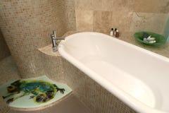 Luxury bathroom. In contemporary home Stock Photo