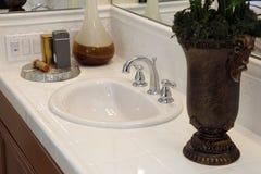 Luxury bathroom decor Stock Photos
