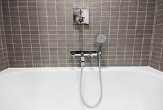 Luxury bathroom detail Stock Images