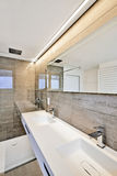 Luxury Bathroom Estate Home Shower Royalty Free Stock Photography