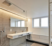 Luxury Bathroom Estate Home Shower stock image