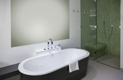 Luxury bathroom in hotel Royalty Free Stock Images