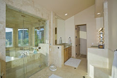 Luxury Bathroom In House Royalty Free Stock Photos