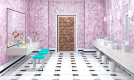 Luxury bathroom interior Royalty Free Stock Photo