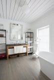 Luxury  bathroom. Royalty Free Stock Photos