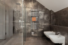 Luxury bathroom interior Royalty Free Stock Photography