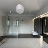 Luxury bathroom interior Royalty Free Stock Photography