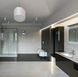 Luxury bathroom interior Royalty Free Stock Photos