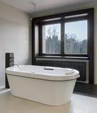 Luxury bathroom interior Royalty Free Stock Images