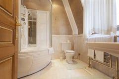 Luxury bathroom interior Stock Images