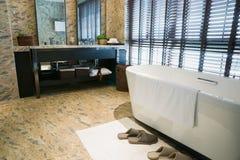 Luxury bathroom. With nice decoration Stock Photo