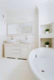 Luxury bathroom's design royalty free stock photo