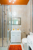 Luxury bathroom shower Royalty Free Stock Photos