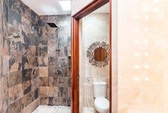 Luxury bathroom Tropical Villa Stock Image